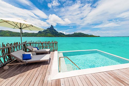 Brando Suite at InterContinental Bora Bora Resort - Bora Bora Overwater Bungalows