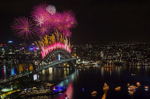 New Year's Eve Fireworks and Celebrations in Sydney