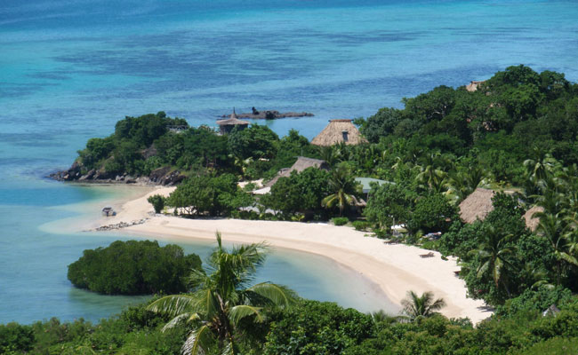 Private beaches in the Yasawas -Navutu Resort - Fiji Islands - Fiji Island Resorts