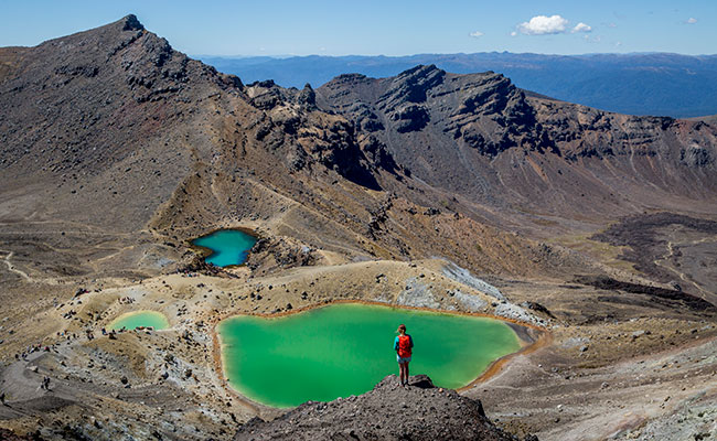 Tongariro Alpine Crossing, New Zealand - Filming Site of Mordor