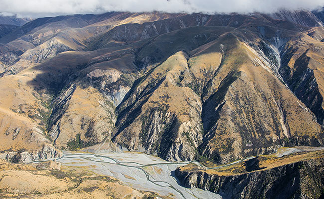 Lord of the Rings - Site of Edoras in New Zealand