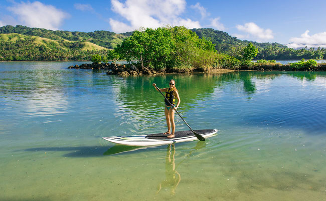 Stand up Paddle Boarding - Namale Resort & Spa - Fiji Best Things To Do