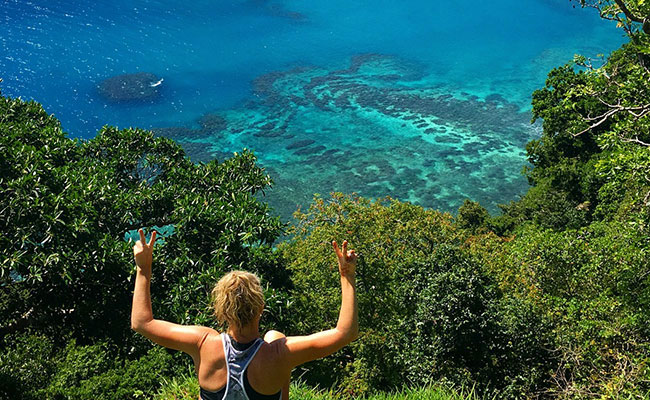 Hiking of Horseshoe Bay - Vanessa Massey - Must See Places in Fiji