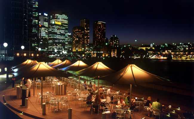 Moonlit Cafe in Sydney - Tourism Australia - Travel Australia Food and Wine