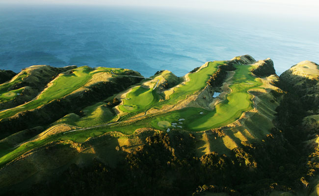 Golf Course at Cape Kidnappers - Cape Kidnappers - Golf travel in New Zealand and Australia