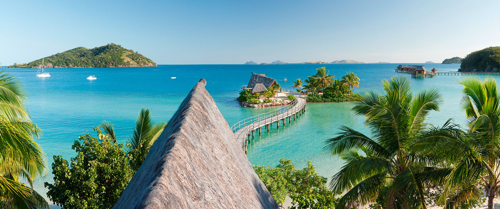 Fiji Overwater Bungalows Beach Resort Vacation