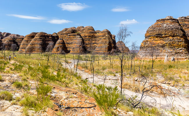 The Bungle Bungles from below - Tourism Australia - Best Places to Visit in Australia