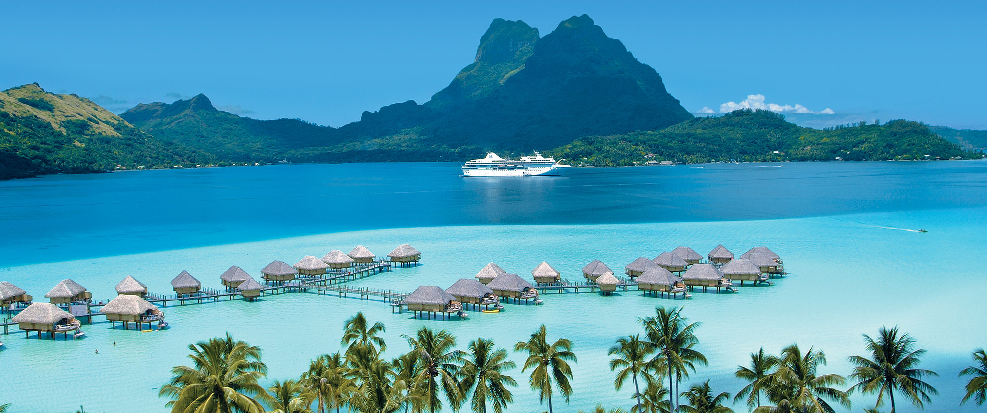 Tahiti Cruises - Bora Bora Cruise - Vacations to Bora Bora