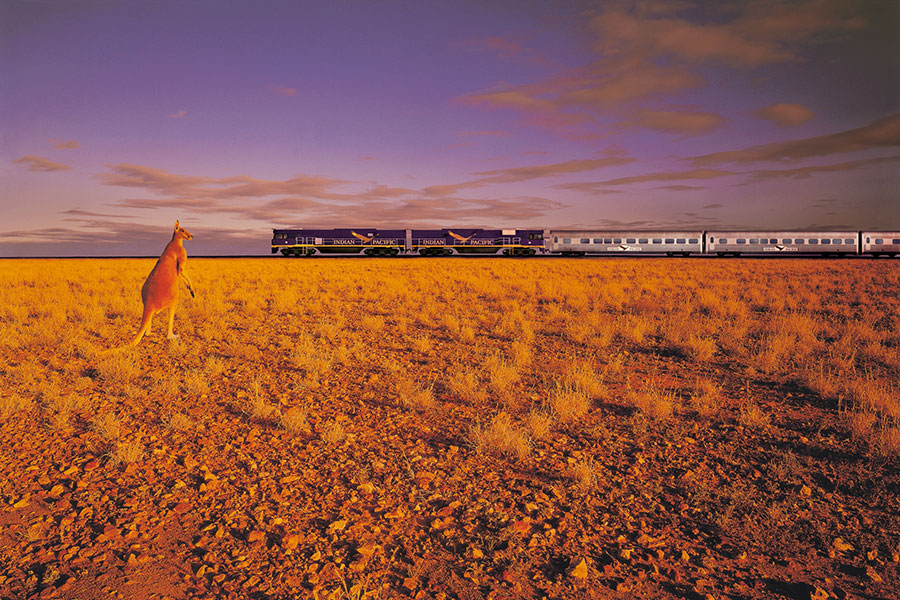 Top World Rail Journeys - Indian pacific - Australia - The Ghan - Outback Luxury - Escorted - Escorted Australia Vacation Packages