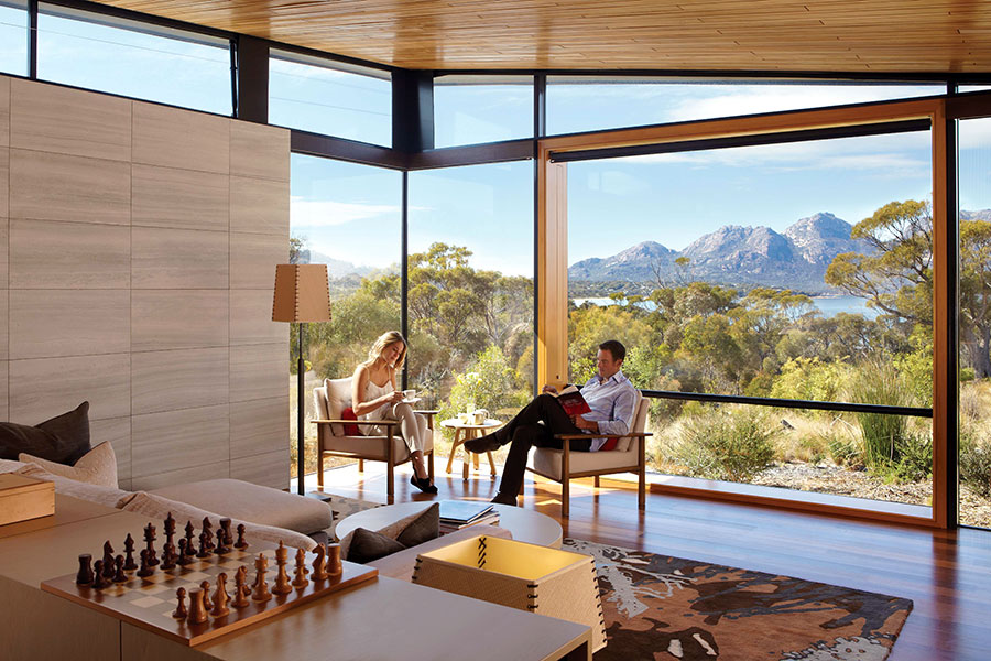 South Australia and Fiji Luxury Travel Package - Saffire Freycinet, Luxury Accommodation in Freycinet National Park, Tasmania