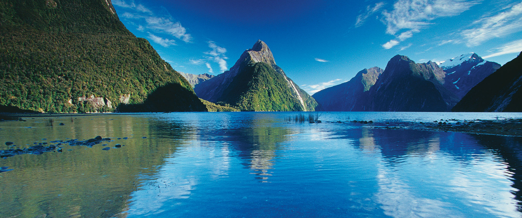 New Zealand Honeymoon Package: Feast of the Senses - Milford Sound