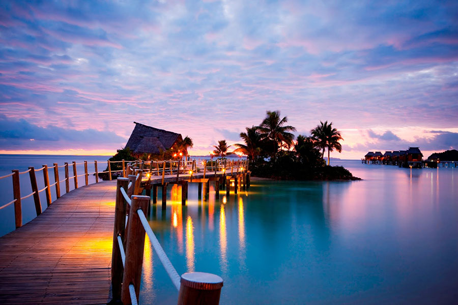 Best Fiji Resort - LikuLiku Lagoon Resort - Fiji Overwater Bungalow