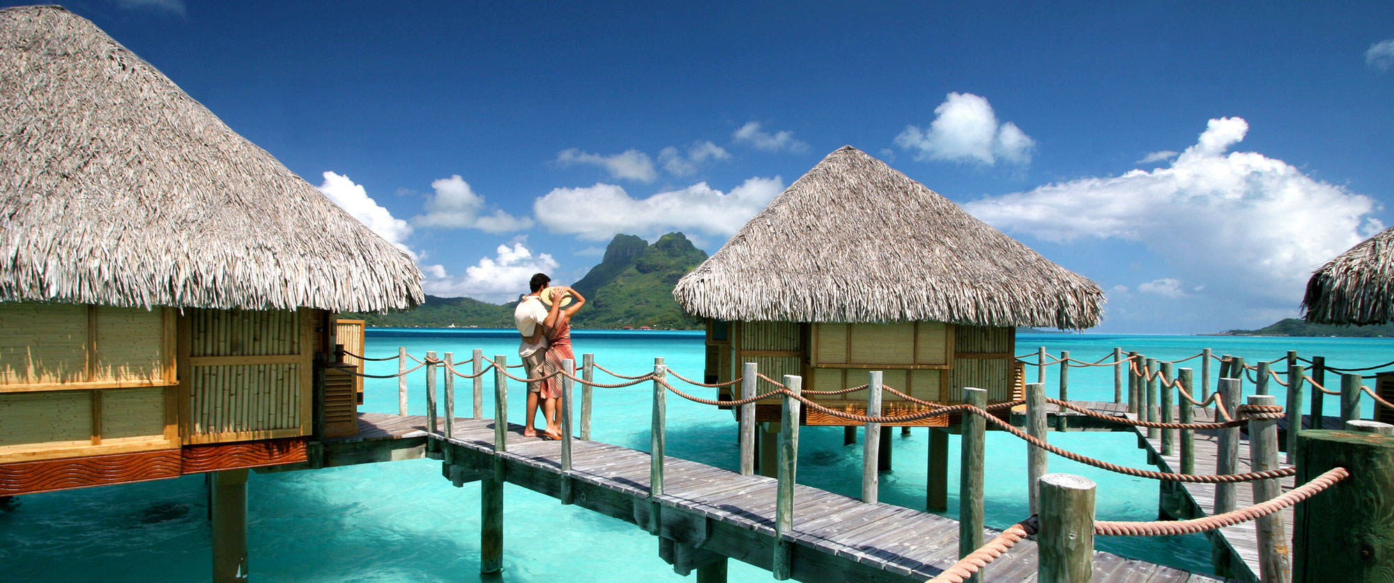 Bora Honeymoons Beach Resorts And Overwater Bungalow Vacation