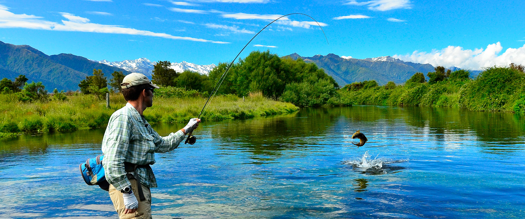 Custom-Built Australia and New Zealand Fishing Vacation - Trout Fishing on the West Coast, New Zealand