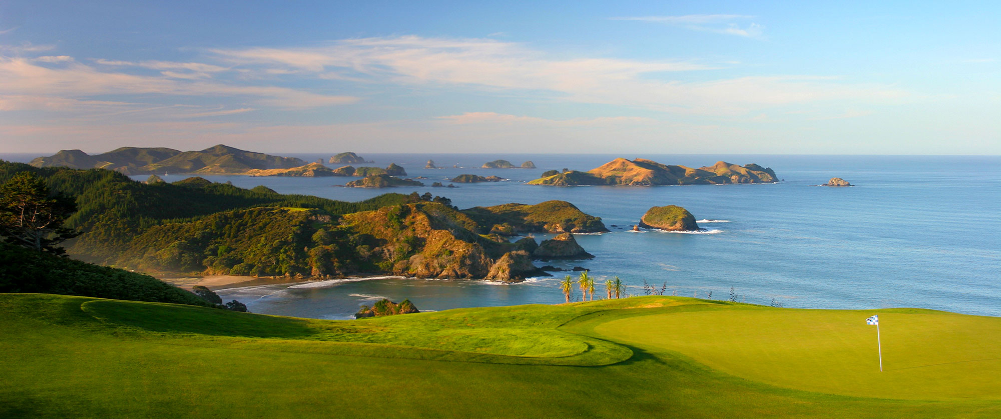 New Zealand Golf at Kauri Cliffs, Bay of Islands - Ranked Among World's Top 100 Golf Courses