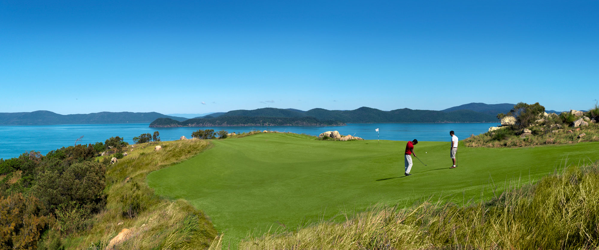 Hamilton Island Golf Club - Getaways Australia: Great Golf Courses of Australia - Top 100 Golf Courses - Golf vacation specialists Australia