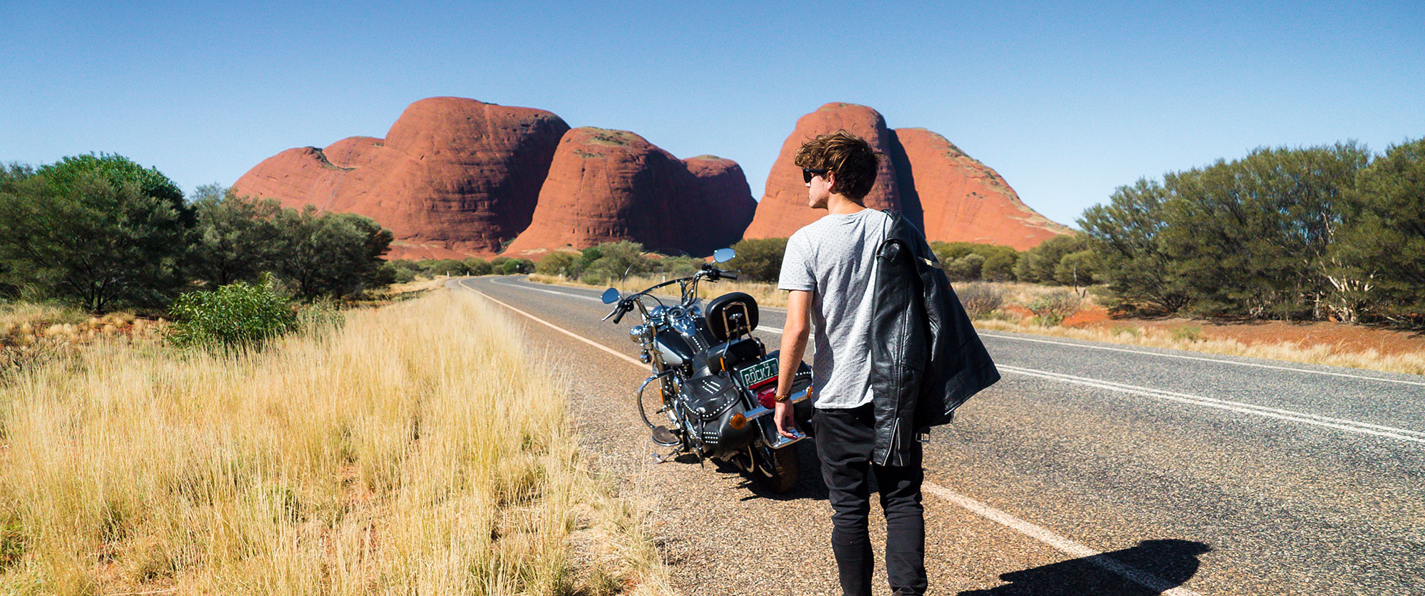 Northern Territory Motorcycle Tour, Australian Outback