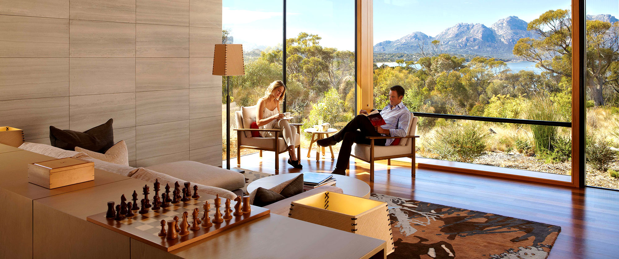 South Australia Fiji Luxury Travel Package: Exclusive Resorts, Wildlife and Cuisine - Saffire Freycinet Tasmania