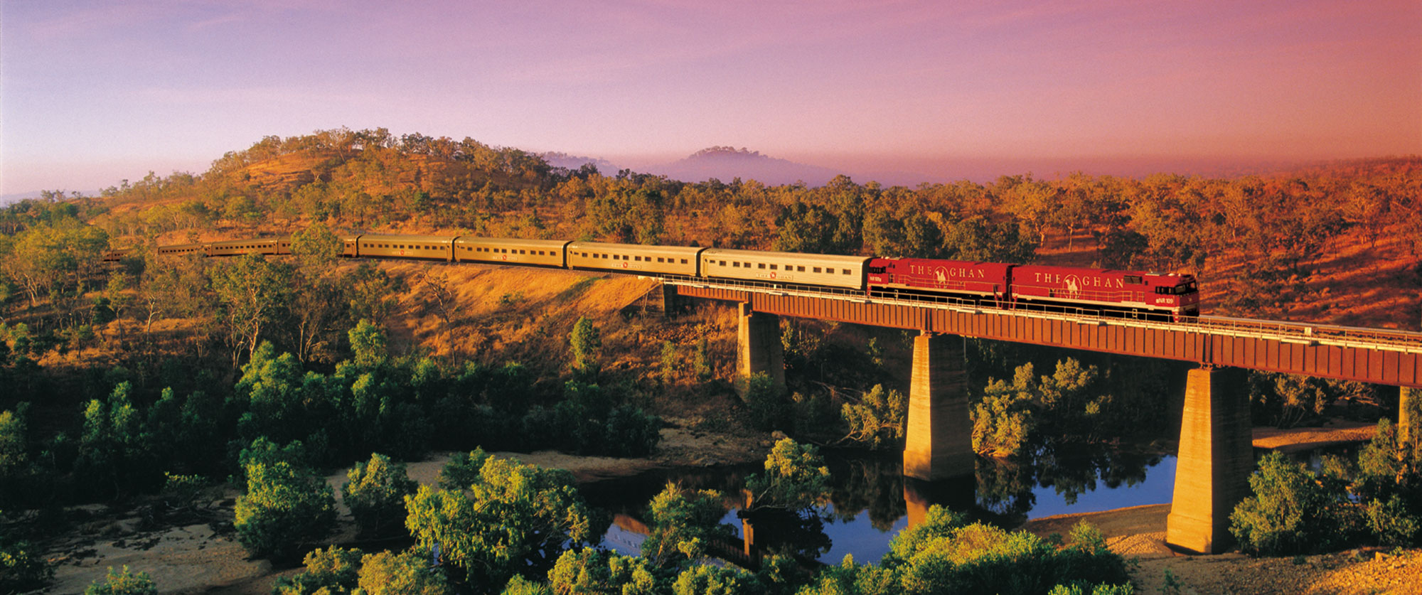 Australian Outback Vacation - The Ghan