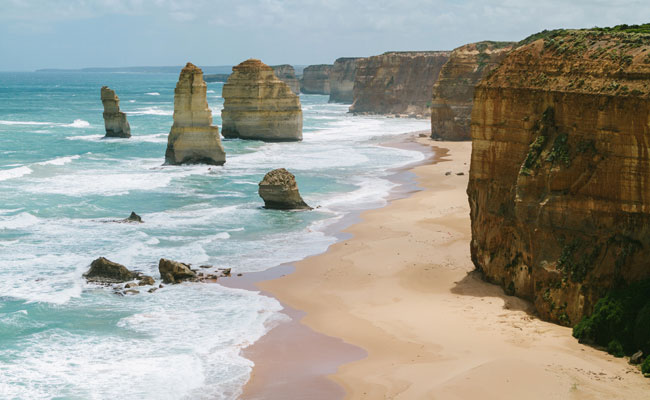 The Twelve Apostles and Sea Cliffs - Tourism Australia - Best Place to Visit in Australia