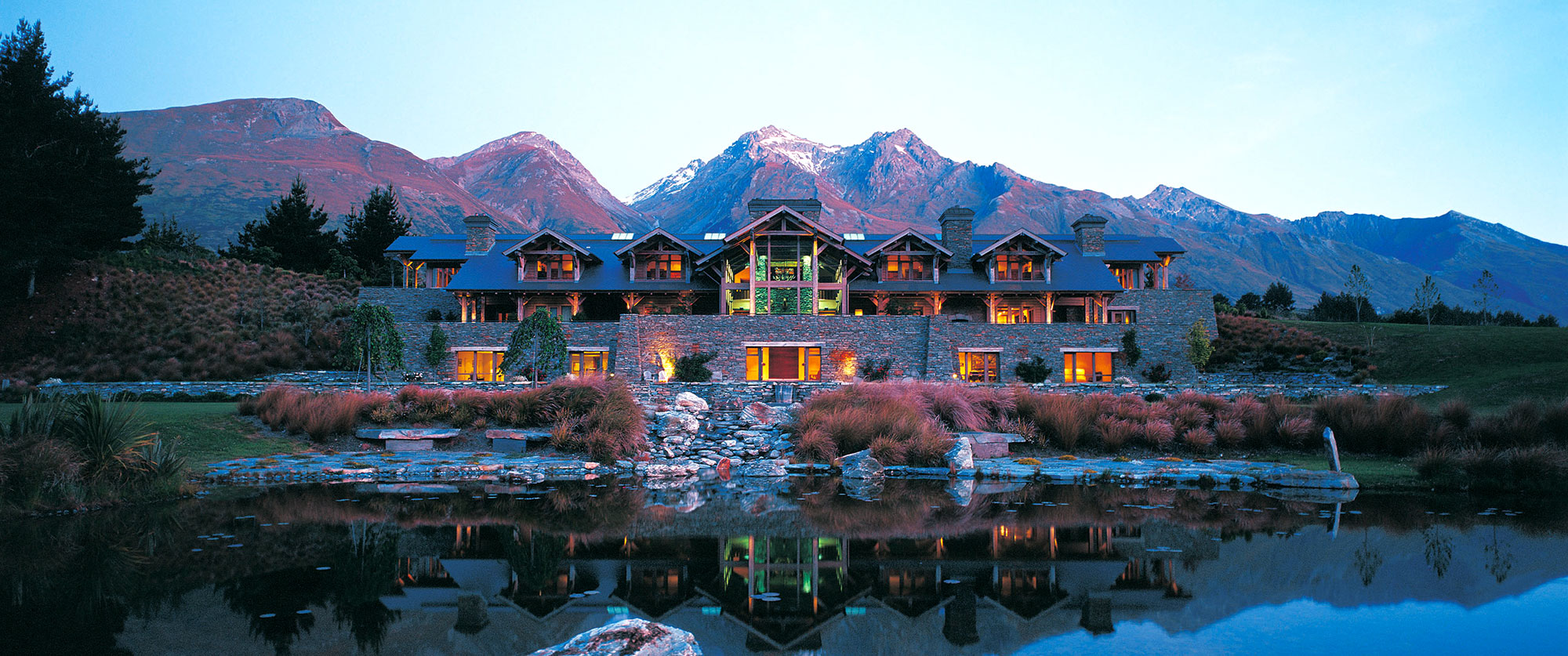 New Zealand Luxury Vacation - Blanket Bay Queenstown