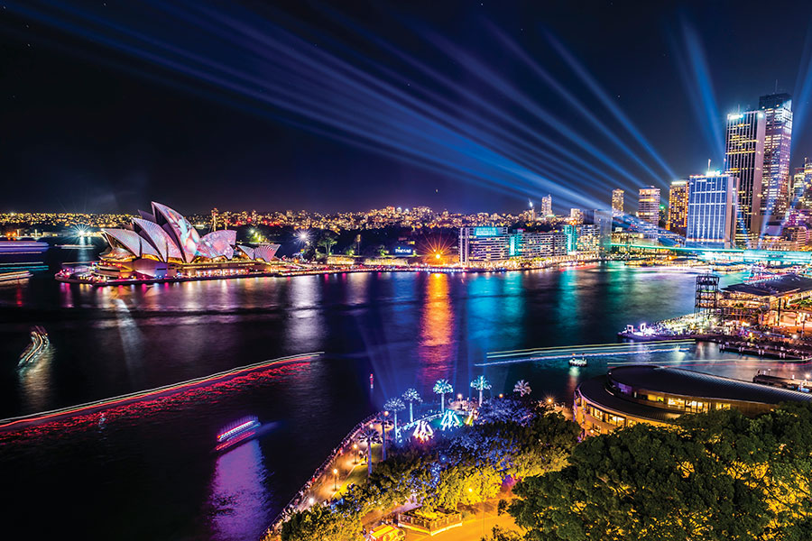 Vivid Sydney Celebration - Sports and Events Vacation Packages
