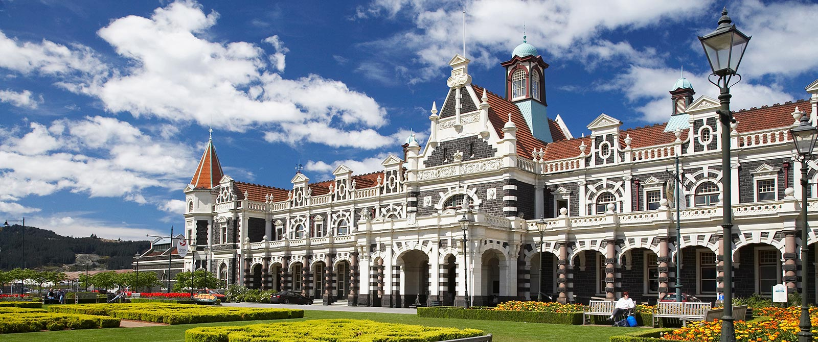 Historic Dunedin Rail Station - Book Your Trip to New Zealand - New Zealand Travel Agency