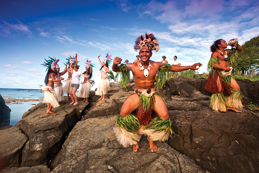 Cook Islands in the South Pacific