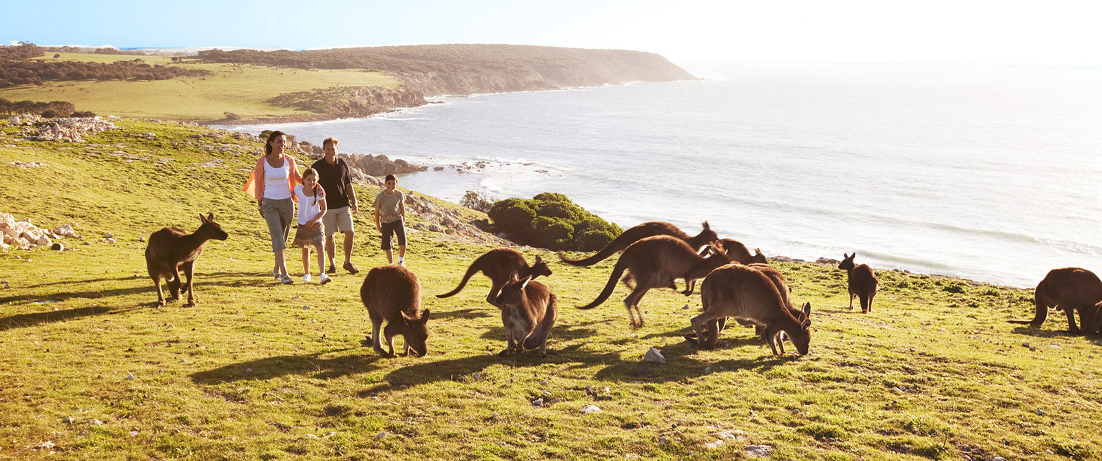 Family on Kangaroo Island Australia - Best Multigenerational Family Vacations