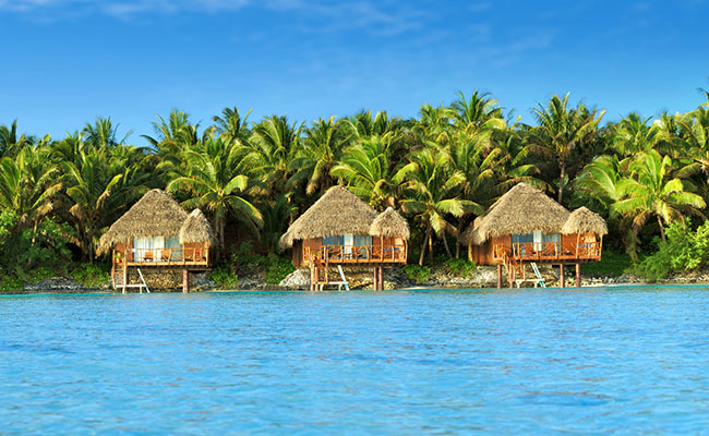 Best Overwater Bungalows Cook Islands - Aitutaki Lagoon Resort & Spa