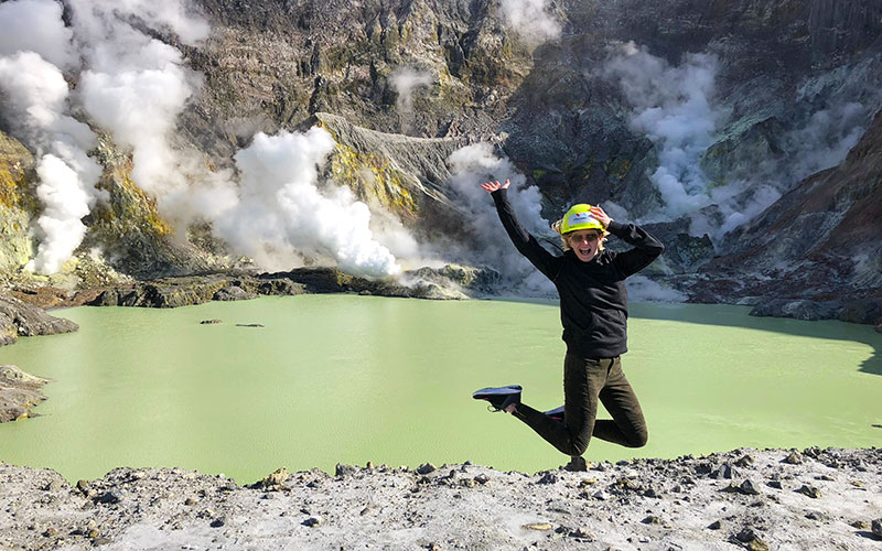 Heli-Hike to White Island Volcano in New Zealand - New Zealand Travel Agents - Laura Tober