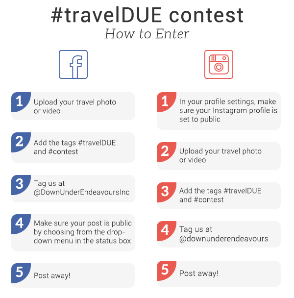 travel DUE contest