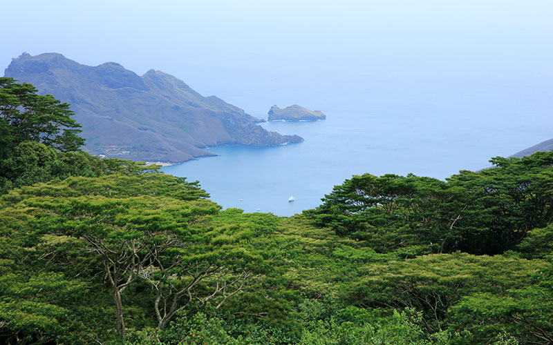 Ocean Views from Nuku Hiva Island