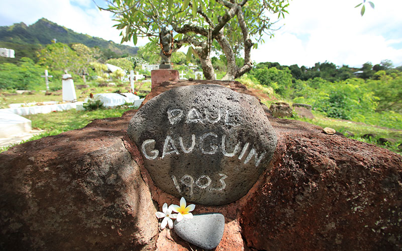 Paul Gauguin's Resting Place on Hiva Oa
