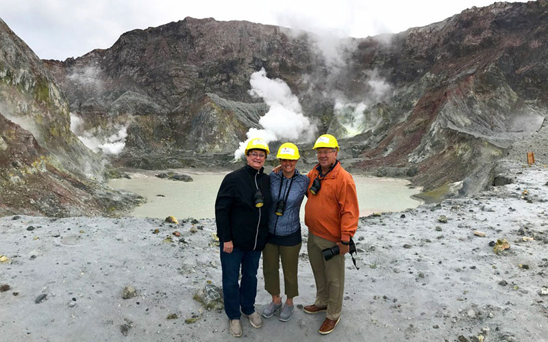 Walk on an Active Volcano - White Island Heli Hike - New Zealand Travel Agents - Shannon Bradley