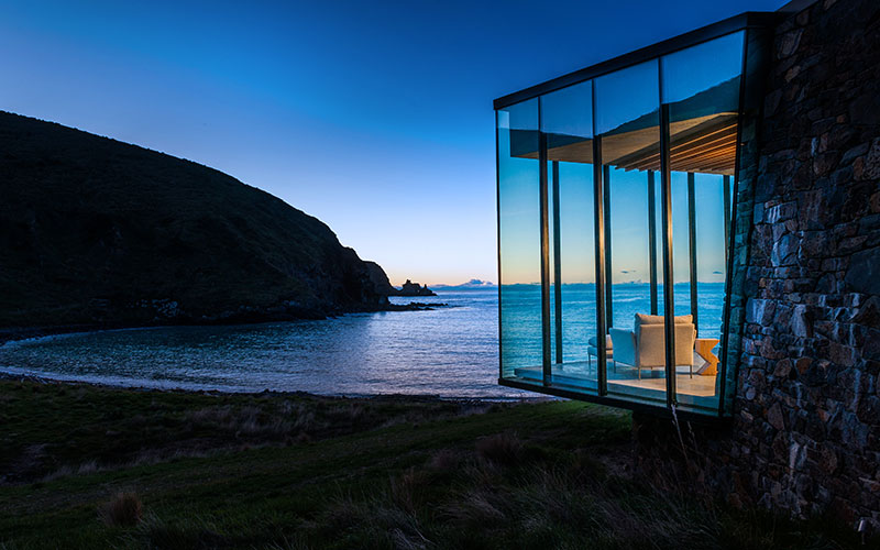 Annandale Seascape Room - New Zealand Family Travel