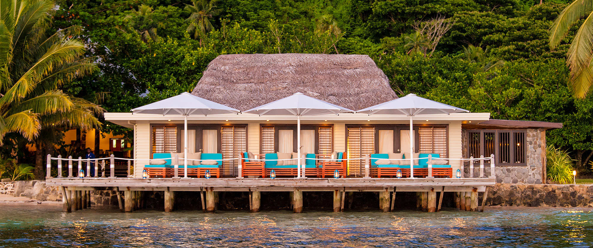 Matangi Private Island Resort Luxury Fiji Vacation Down