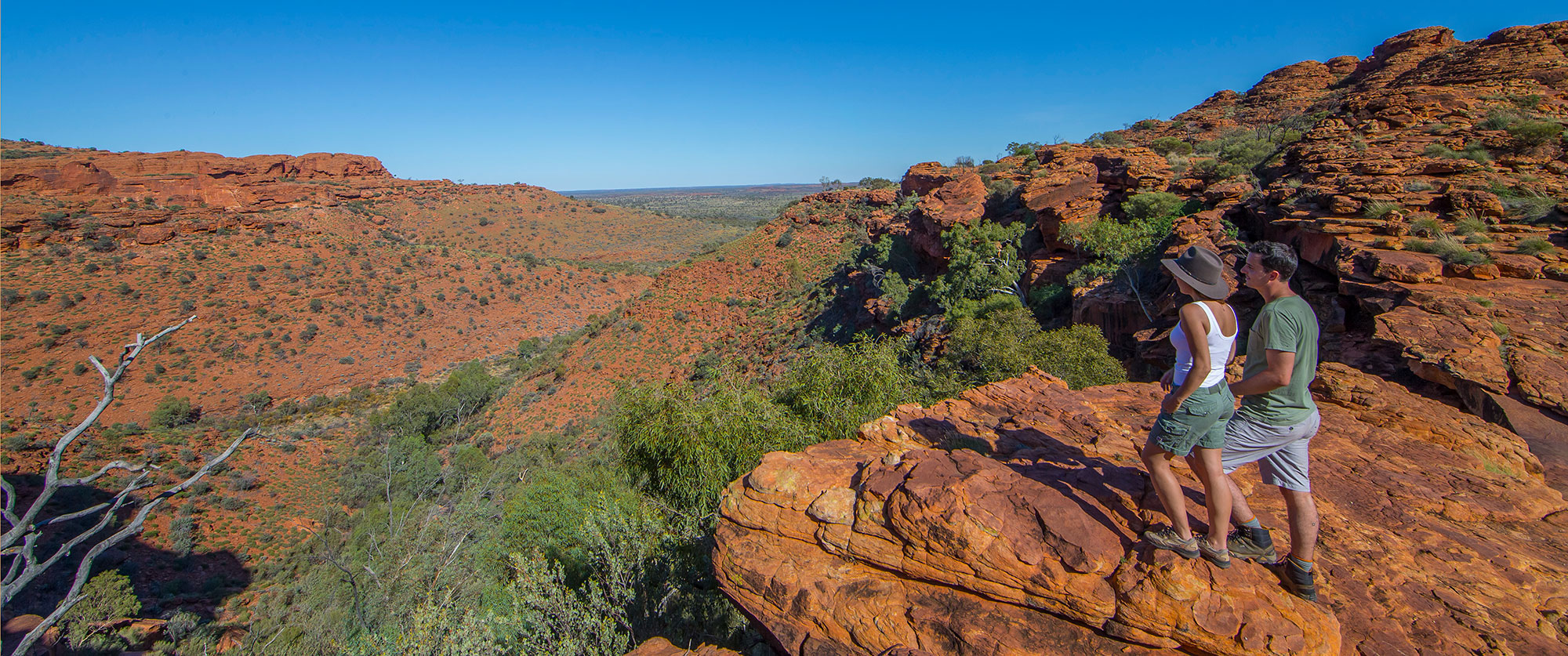 Australian Adventure Vacation - Kings Canyon Rim Walk