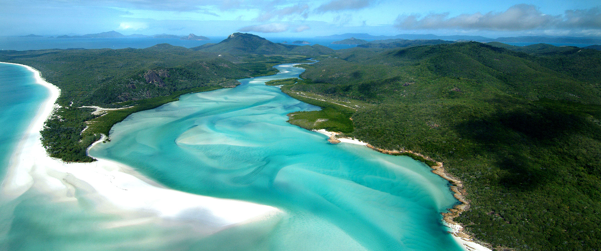 Australia Highlights and Tasmania Vacation - Whitehaven Beach
