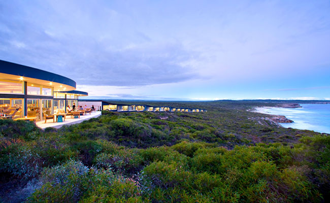 Ocean views from the hotel - Southern Ocean Lodge - Travel Southern Australia