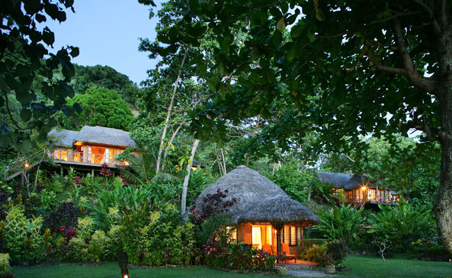 The treehouse rooms at Matangi - Matangi Private Island Resort - Travel Fiji