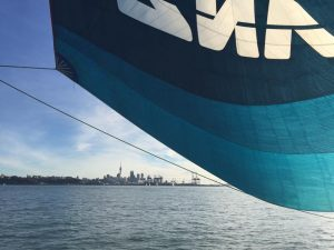 View to Auckland from America's Cup Sailing