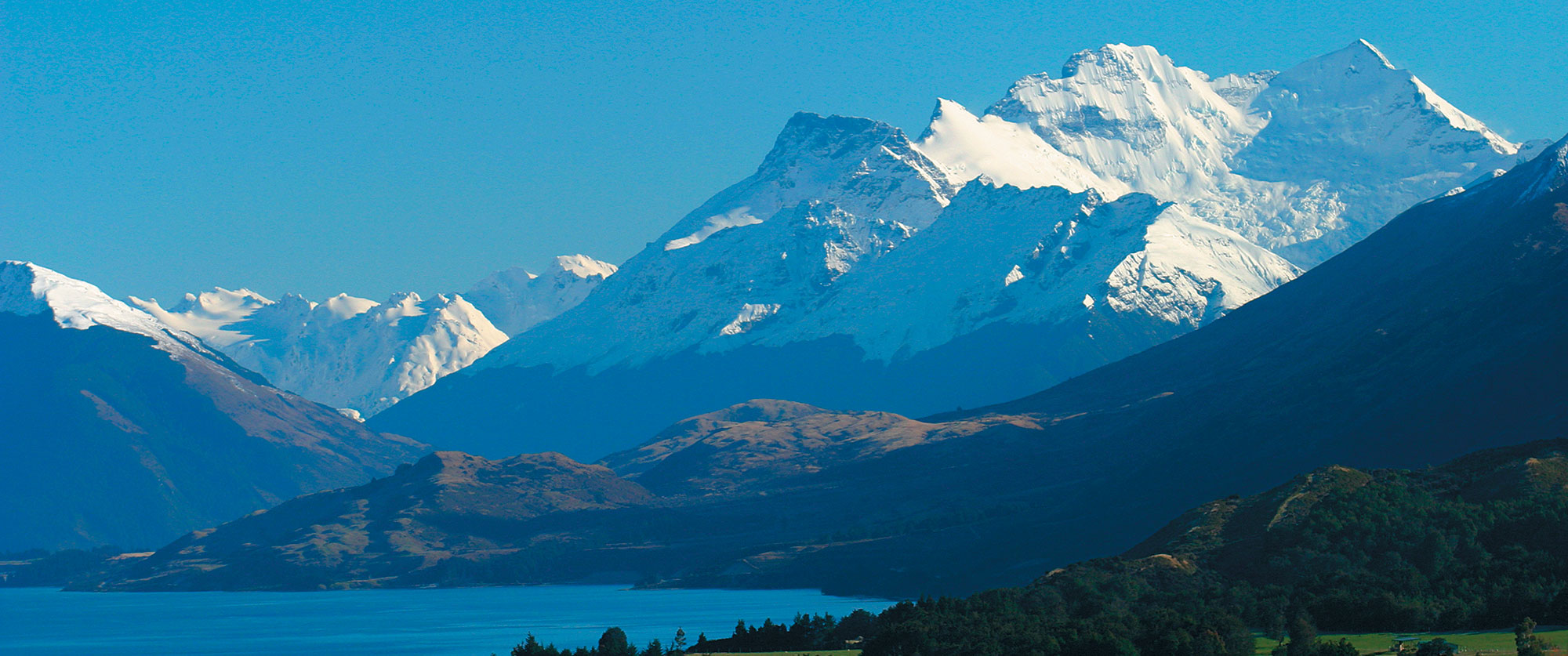 New Zealand Honeymoon Adventure - New Zealand Southern Alps drive