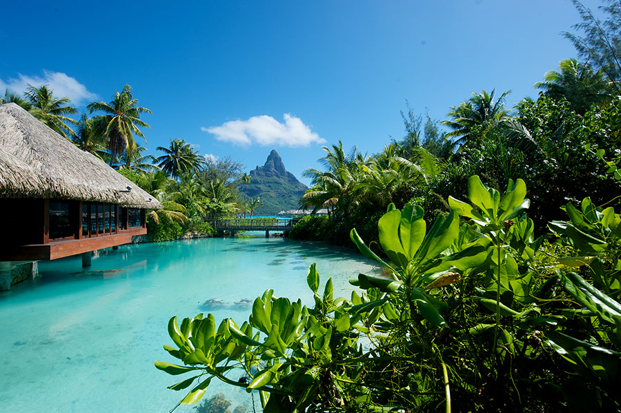 Exotic Island Vacations: Bora Bora Overwater Bungalows