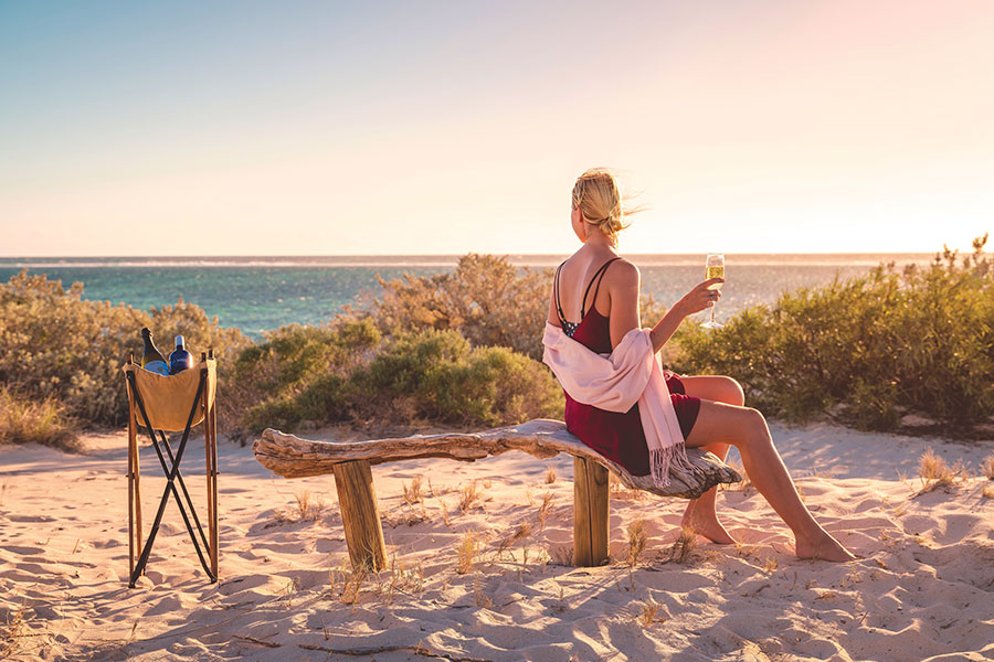 Beach at Sal Salis - Western Australia Luxury Vacation