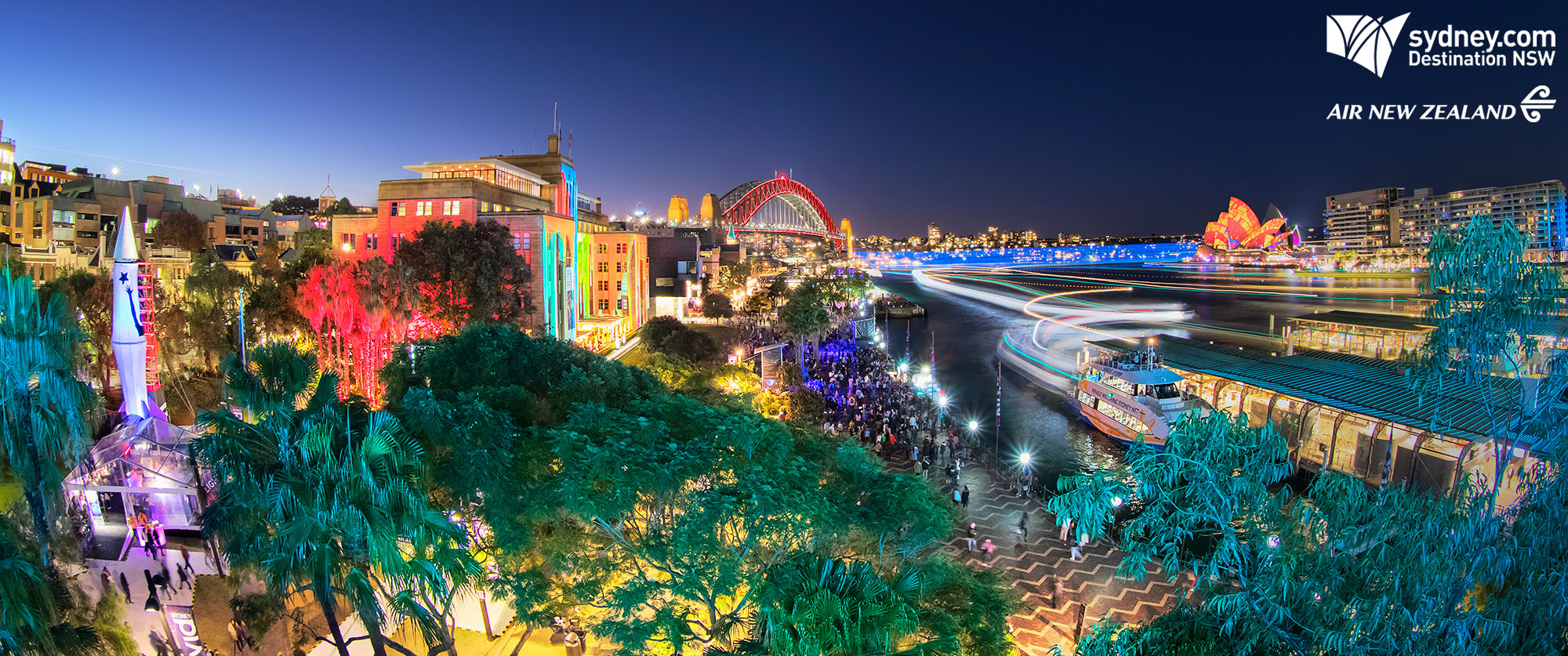 Luxury Australia Vacations: Vivid Sydney Adventure