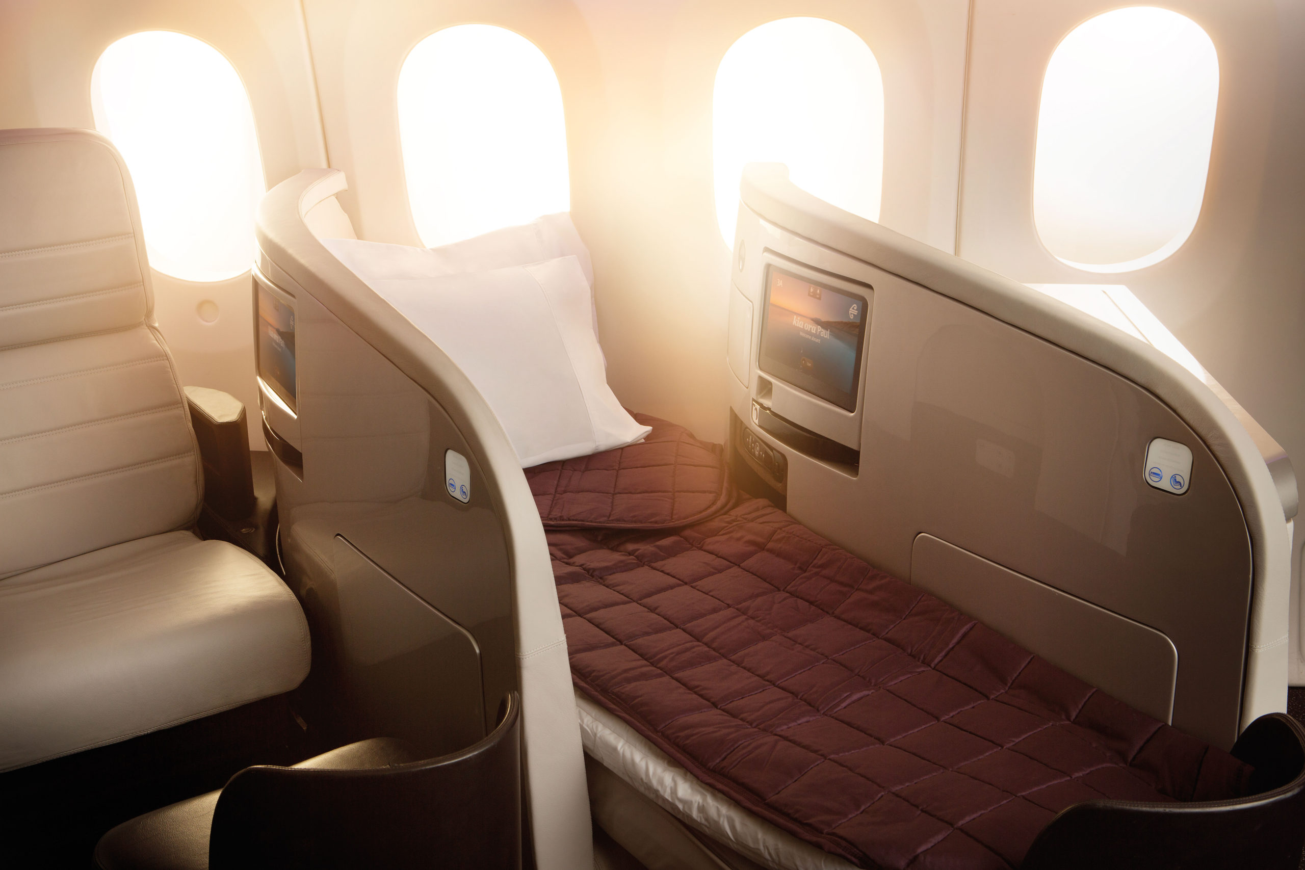 Fly Air New Zealand - Business Premier