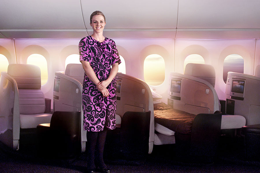 Fly Air New Zealand - Business Premier Cabin