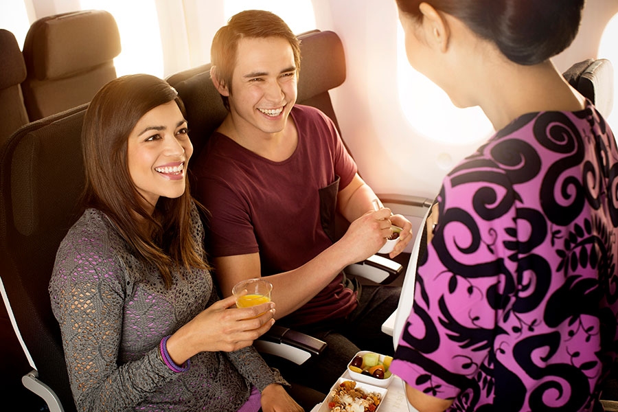 Fly Air New Zealand - Economy Cabin