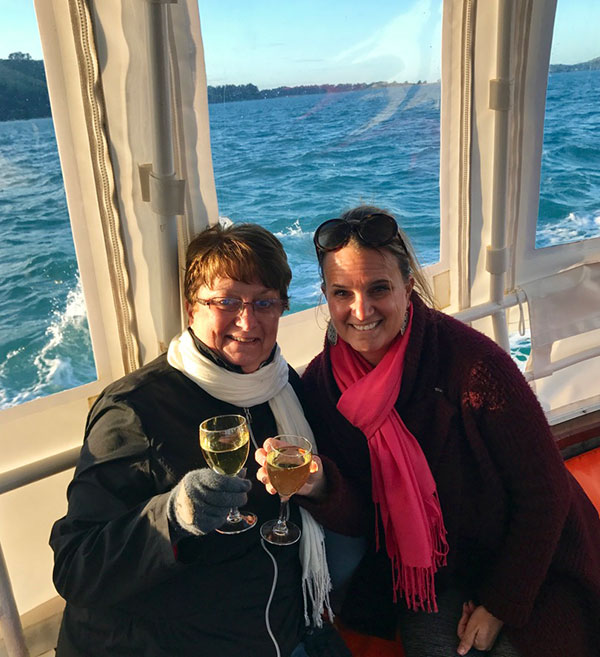 New Zealand Trips - Best Places to Go - Dunedin Harbour Cruise with Wine